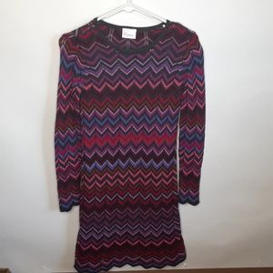 Hanna Andersson long lined sleeve sweater dress